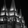 Salt Lake  Temple Steeples