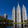 Salt Lake Temple Reflecting Pond