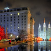 Temple Square Reflection Pond