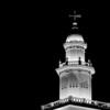 St George Utah Temple Steeple (Night)