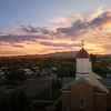 Vernal Sunset Aerial