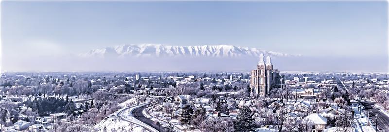 Logan Temple Cold Winter