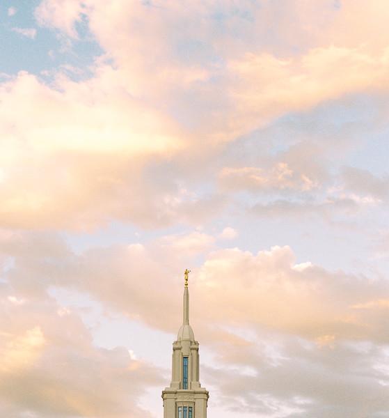 Payson Utah Temple Spire #1