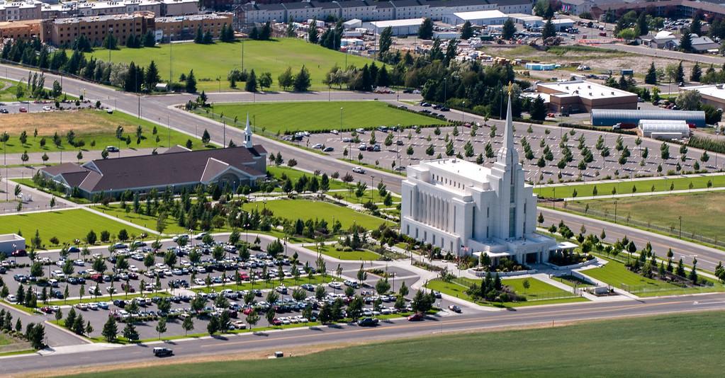 Rexburg Idaho LDS Temple