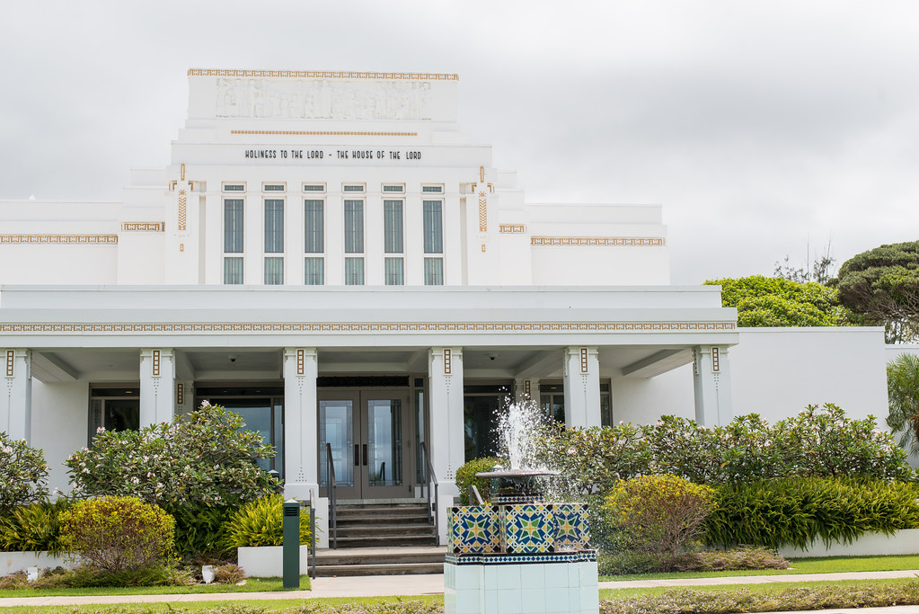 Leigh Hawaii temple