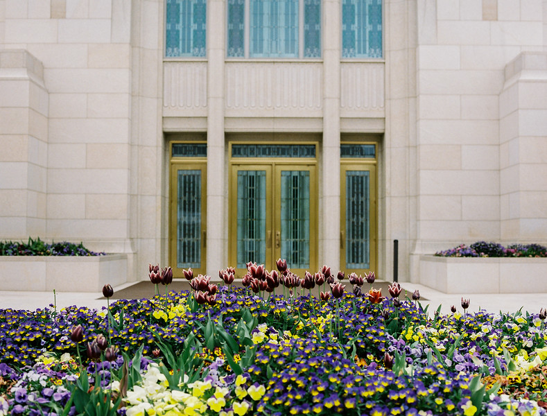 Ogden Temple Grounds