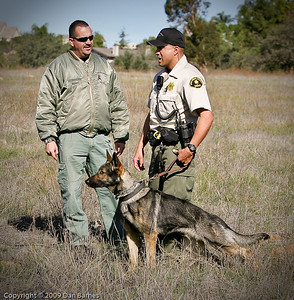K9 training Wright's field-2