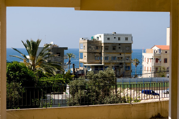 View of the Mediterranean -Beirut - بيروت