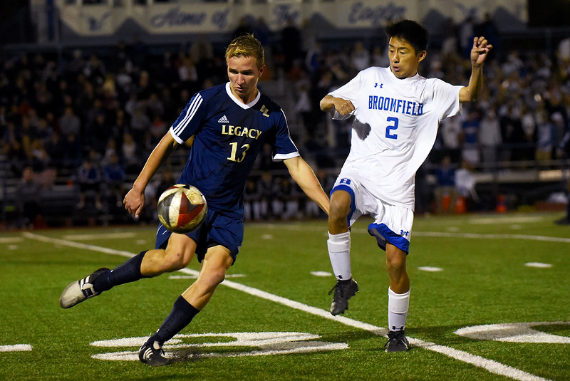 Broomfield vs. Legacy mens soccer