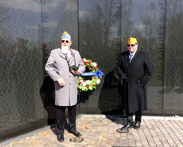 FEB. - DC - ARLINGTON & MEMORIAL WREATH LAYINGS