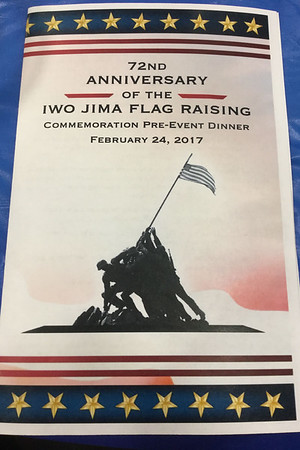 FEB. - IWO JIMA ANNIVERSARY CELEBRATION PRE-PARADE DINNER