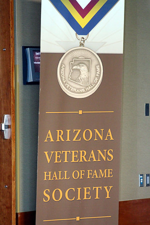 OCT. - VETERANS HALL OF FAME CEREMONY