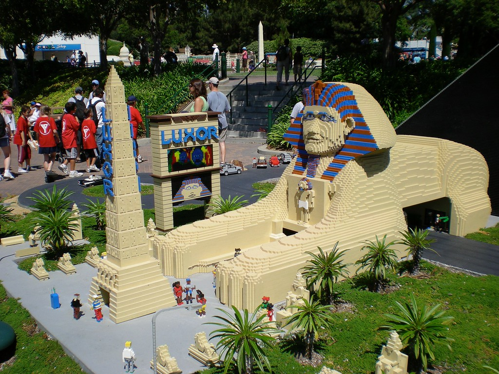 Legoland with Paul and Betty, Summer of 2007