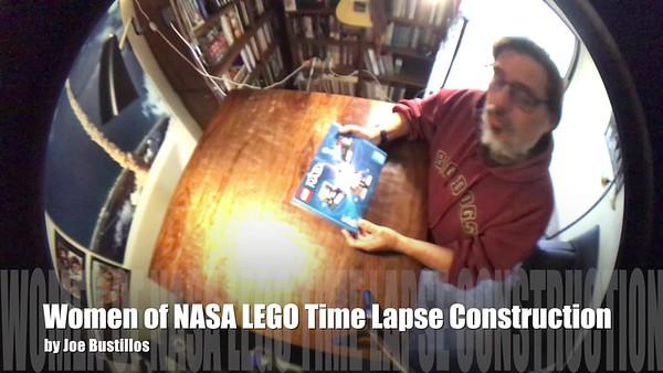 2018-02-03 Women of NASA LEGO Time Lapse Construction