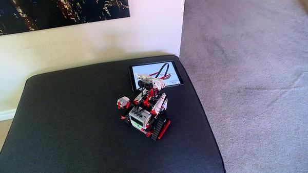 2019-05-12 my LEGO EV3 test runs
