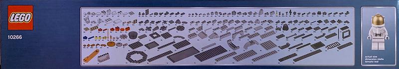 LEGO NASA Apollo 11 Lunar Lander 10266-side