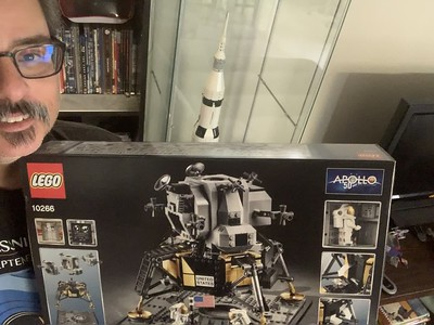 2019-06-08 LEGO Apollo Lunar Lander Build-17
