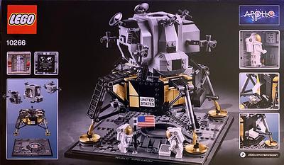 LEGO NASA Apollo 11 Lunar Lander 10266-back