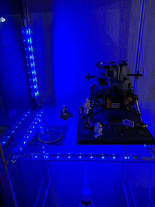 2019-06-13 IKEA DIODER light kit - next to Lunar Lander