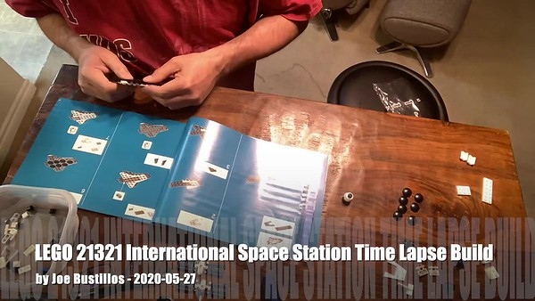 _2020-05-26 LEGO ISS Time Lapse Build