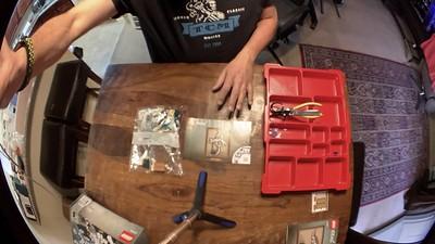 2020-02-09 LEGO Pteradactyl build-1