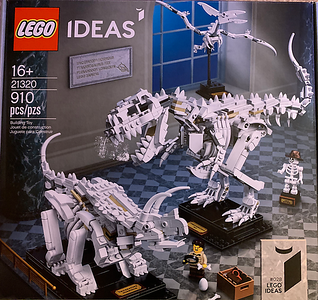 LEGO IDEAS 21320 Museum Dinosaurs-front
