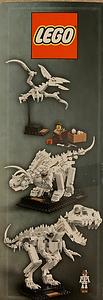 LEGO IDEAS 21320 Museum Dinosaurs-top
