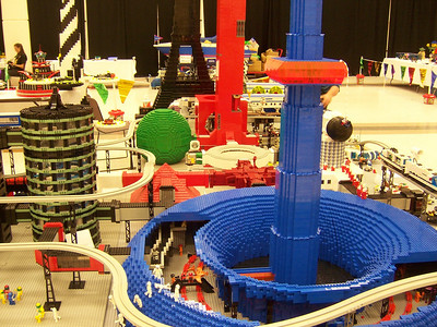 The Big Blue Torus, partially opened.  See additional gallery.
