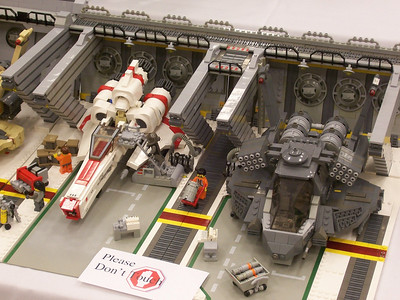ChiefLug, which was the display of Vipers and Raptors in a hanger setting won for Best in Space.