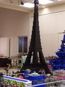 My Eiffel tower on the moon.