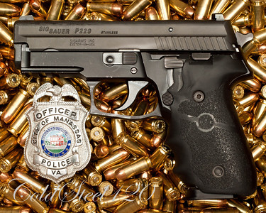 Bullets behind The Badge