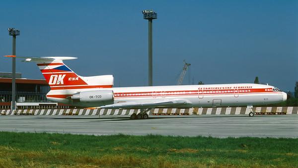 OK-TCD   Tu-154.M @ BTS
