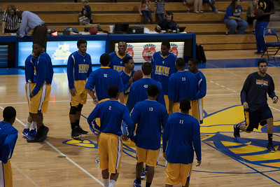 vs. Howard Payne 12/08/12