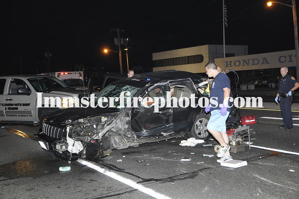 LEVITTOWN FD 7-18-09 Hempstead Tpke at Honda City 3:46 AM