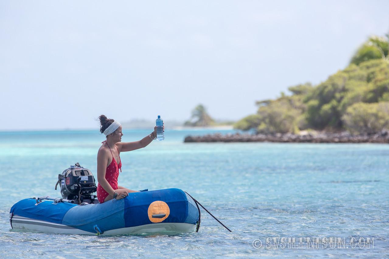 July 2015- Coral Atoll Tahanea, French Polynesia<br /> Photo: Chris Newley