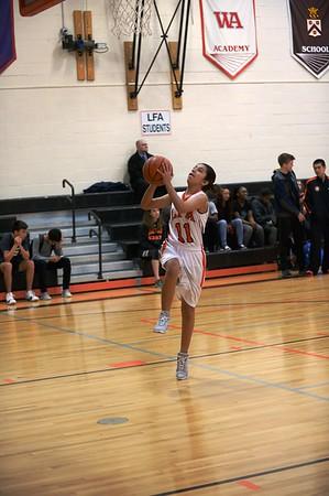 JV Girls Basketball 17-18