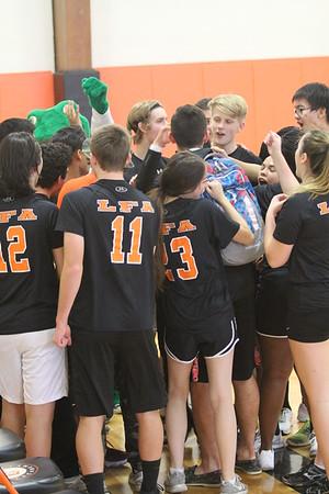 11.4.16 Seniors v. Faculty Volleyball