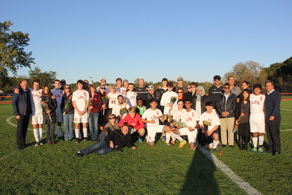 10.13.16 Boys Soccer Senior Night