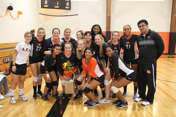 10.5.16 Girls Varsity Volleyball Senior Night