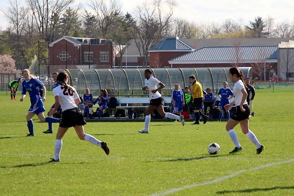 LFA Girls JV Soccer v Highland Park HS (04/17/17)