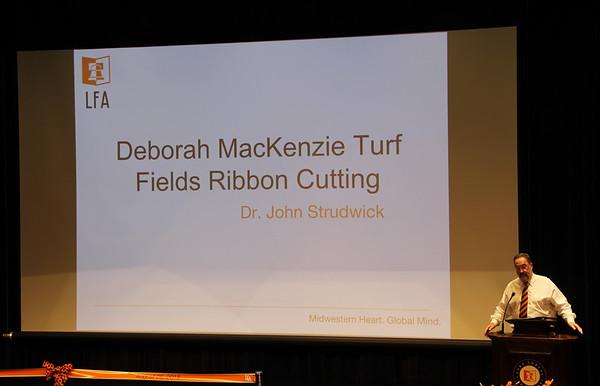 8.26.18 Turf Field Ribbon Cutting Ceremony