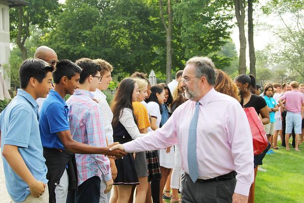8.27.18 All-School Handshake