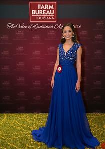 Queens Contest contestant Jenna Rose Oubre of Lafayette Parish.