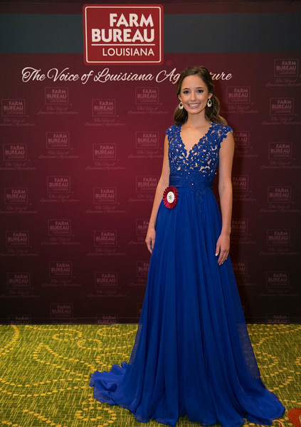 Queens Contest contestant Jenna Rose Oubre of Lafayette Parish.