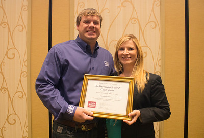 Achievement Award finalists Russell and Amelia Kent of Tangipahoa Parish