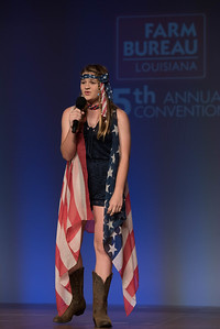 "Junior Talent Contest contestant Macy Bergeron of Pointe Coupee Parish performed ""Bobby Magee."""