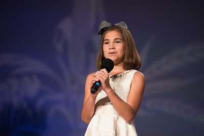 "Junior Talent Contest contestant Audrey Hardy of Jeff Davis Parish sang ""Coat of Many Colors"" by Dolly Parton."