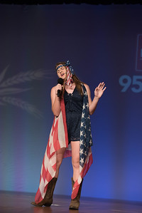 """Junior Talent Contest contestant Macy Bergeron of Pointe Coupee Parish performed """"Bobby Magee."""""""