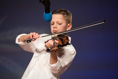 """Junior Talent Contest contestant Ivan Aucoin of Calcasieu parish performed """"Tes Parents ne Veulent Plus Me Voir""""."""