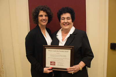 Ascension Parish Farm Bureau was recognized for outstanding achievement in the Women's Leadership Committee program by Louisiana Farm Bureau Women's Leadership Committee State Chair Denise Cannatella. Accepting the certificate for Ascension Parish Farm Bureau Women's Leadership Committee District X Chair Sandra Sotile.